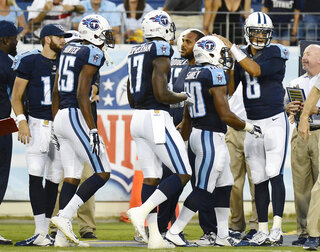 Marcus Mariota, Bishop Sankey, Justin Hunter, Dorial Green-Beckham