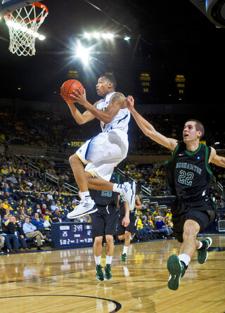 Trey Burke, Taylor Johnston