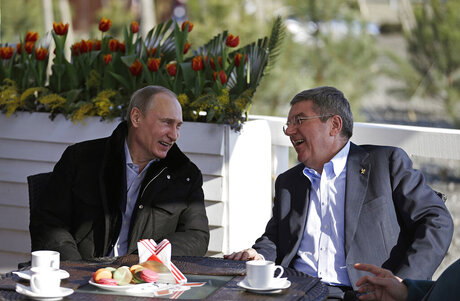 Vladimir Putin,Thomas Bach