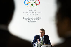 Switzerland IOC Executive Board Meeting