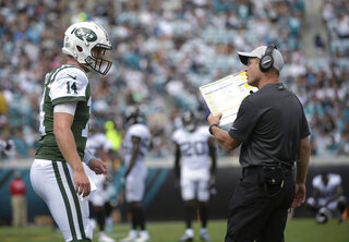 Jets Sputtering Offense Football