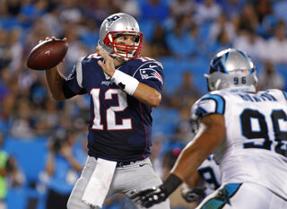 Tom Brady, Wes Horton