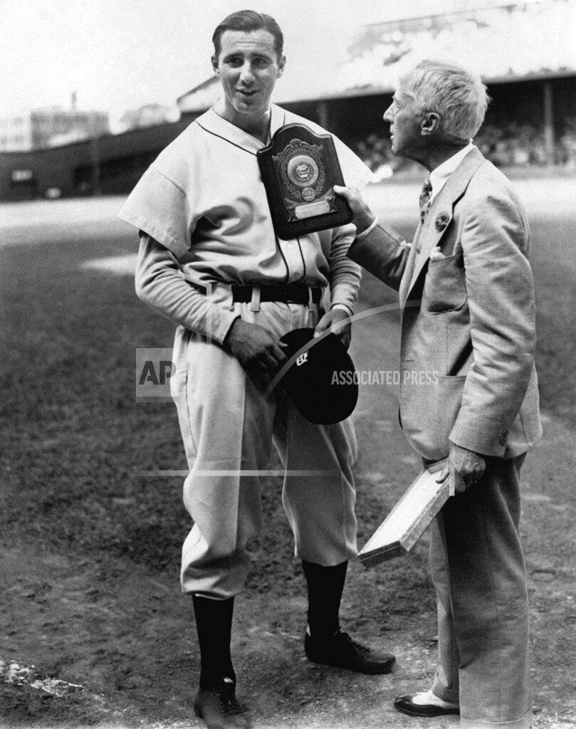 Watchf Associated Press Sports  Michigan United States APHS134034 World Series Game 1935