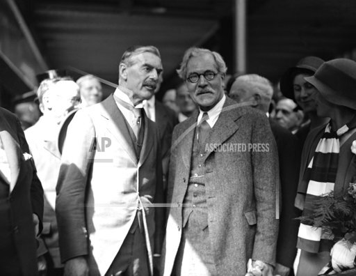 England Ramsey MacDonald and Neville Chamberlain