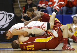 Aaron Craft, Georges Niang, Korie Lucious