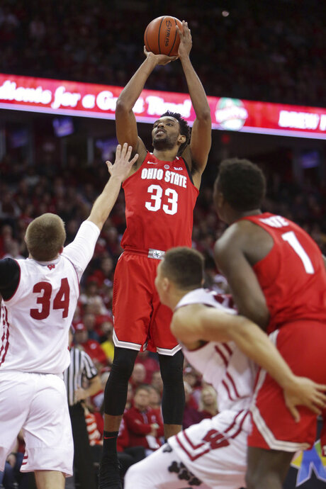 Ohio St Wisconsin Basketball