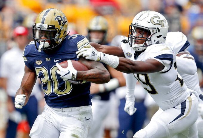 Pitt defense shuts down Georgia Tech in 24-19 win
