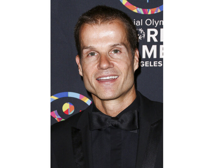 FILE - This July 31, 2015 file photo shows professional dancer Louis Van Amstel, a former cast member on