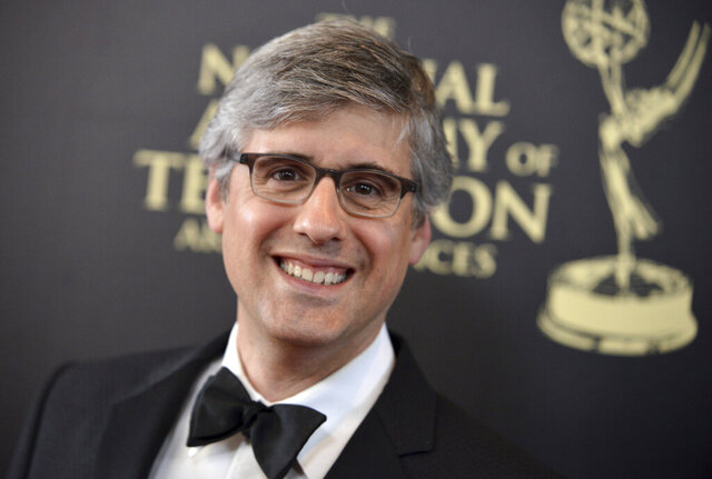 FILE - This June 22, 2014 file photo shows Mo Rocca at the 41st annual Daytime Emmy Awards in Beverly Hills, Calif. Rocca released a book