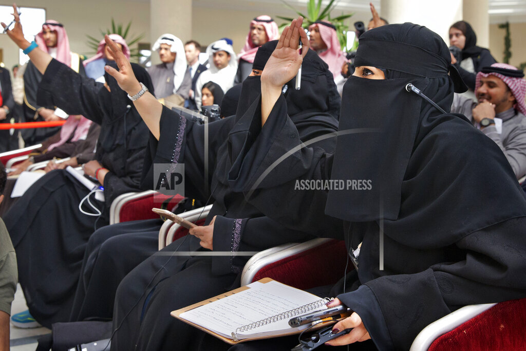 APTOPIX Saudi Arabia US Kerry