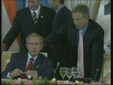 Russia Bush Comment