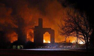 Rolando McClain House Fire