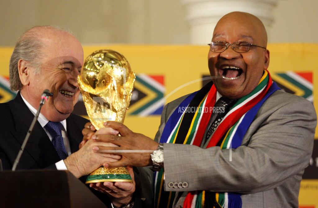 South Africa Soccer WCup Zuma