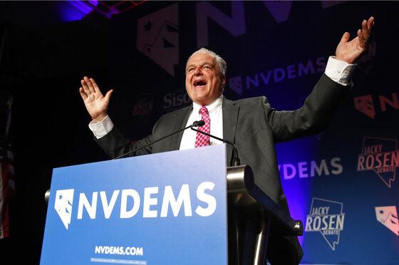 APTOPIX Election 2018 Governor Sisolak Nevada