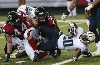 Titans Falcons Football