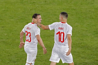Russia Soccer WCup Serbia Switzerland