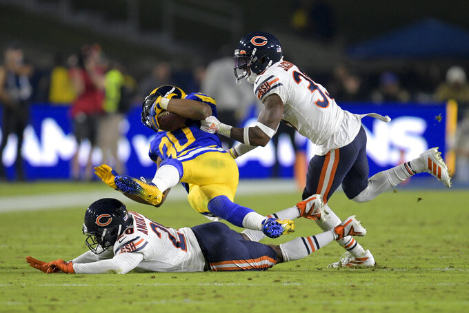 Struggling Bears left with little hope after losing to Rams