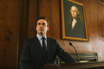 This image released by Amazon Studios shows Jon Hamm in a scene from