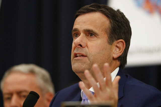 Rep. John Ratcliffe, R-Texas, speaks during a House Judiciary Committee markup of the articles of impeachment against President Donald Trump, Thursday, Dec. 12, 2019, on Capitol Hill in Washington. (AP Photo/Andrew Harnik)