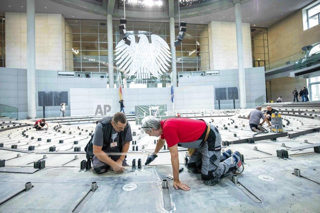Renovation of the Bundestag
