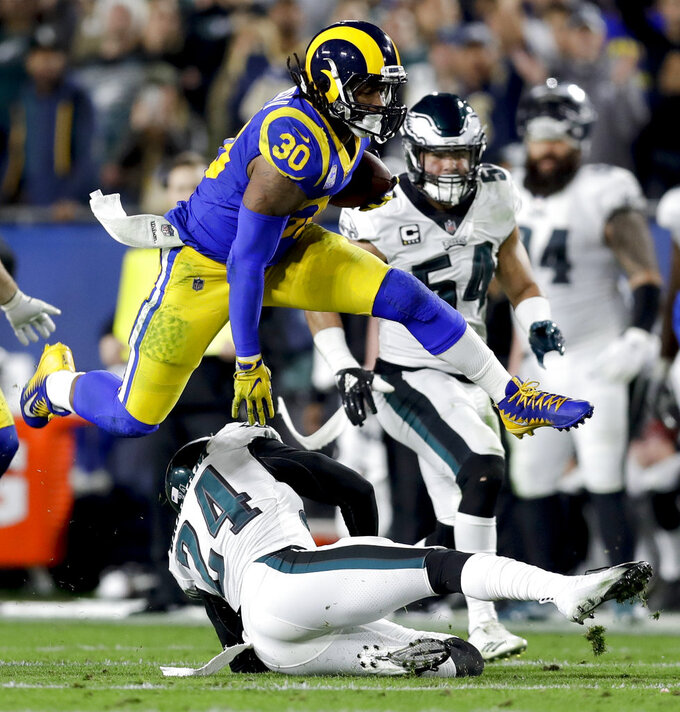 Philadelphia Eagles at Los Angeles Rams 12/16/2018