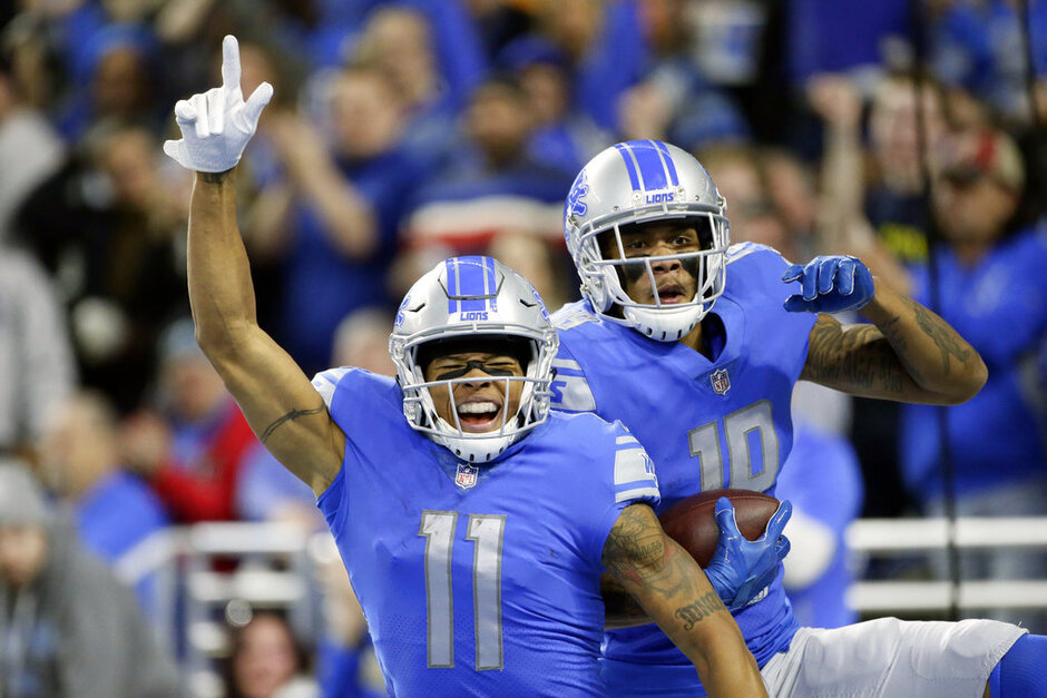 Marvin Jones, Kenny Golladay