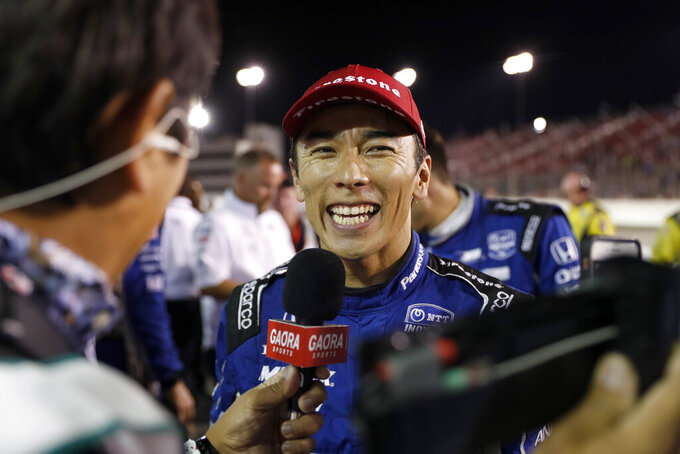 Sato rebounds from Pocono to roll into Portland on high