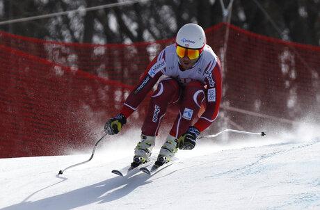 South Korea SKI WCup Men's Downhill Training