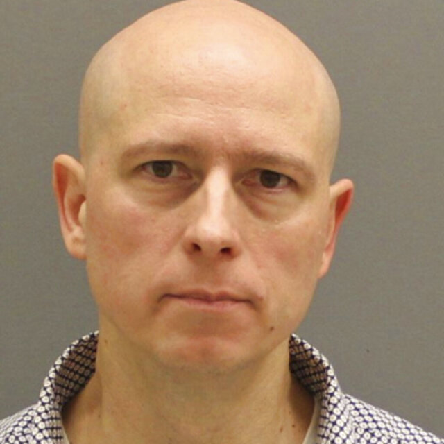 "This image released by the Ottawa County Jail, shows Timothy Koets, 50, an assistant professor for Grand Rapids Community College, who has been charged in the pool drowning of his son with autism. Koets, who is scheduled to stand trial in March in the drowning of 16-year-old Samuel Koets, told nationally syndicated news magazine ""Inside Edition"" on Tuesday, Jan. 7, 2020, that he is being unfairly portrayed as an uncaring father who neglected to supervise his son. (Ottawa County Jail/The Grand Rapids Press via AP)"