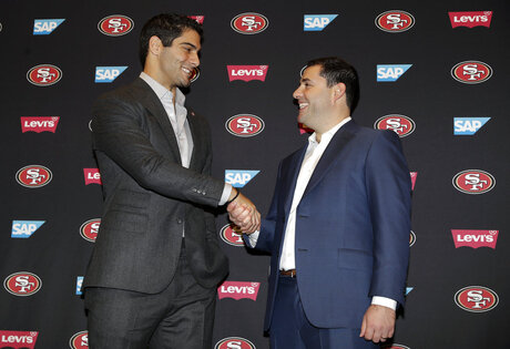 Jimmy Garoppolo, Jed York