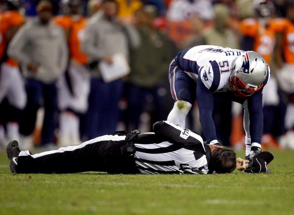 APTOPIX Patriots Broncos Footall