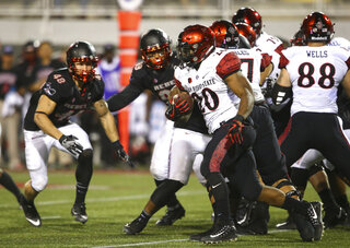 San Diego St UNLV Football