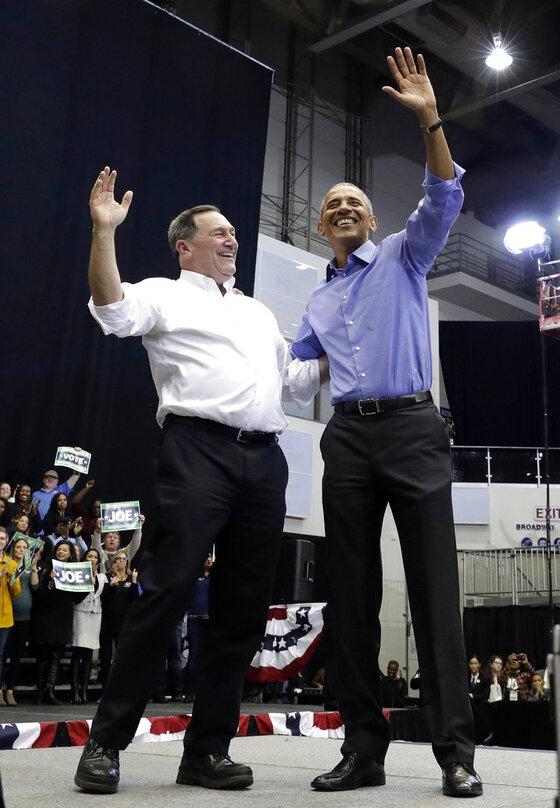 Barack Obama, Joe Donnelly