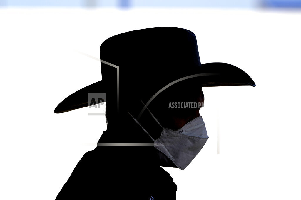 APTOPIX Virus Outbreak Texas Daily Life