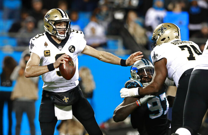 New Orleans Saints at Carolina Panthers 12/17/2018