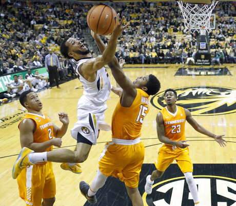 Tennessee Missouri Basketball