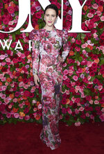 FILE - In this June 10, 2018 file photo, Rachel Brosnahan arrives at the 72nd annual Tony Awards in New York. Brosnahan turns 29 on July 12. (Photo by Evan Agostini/Invision/AP, File)