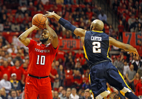West Virginia Texas Tech Basketball