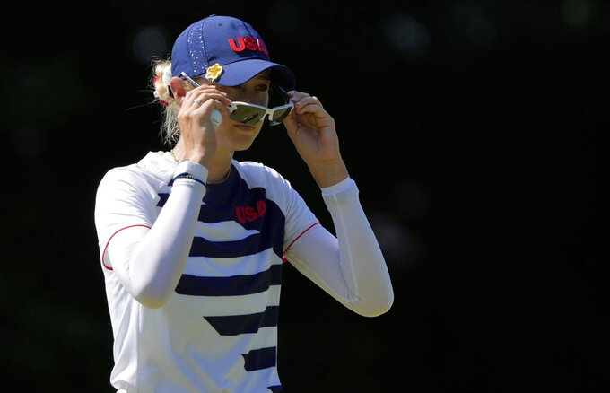 Oh, Nelly! Korda flirts with 59 to build 4-shot Olympic lead