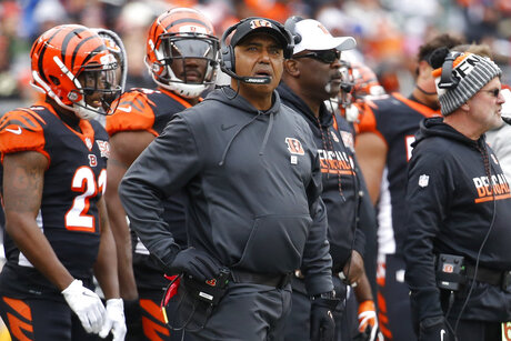 Bengals Lewis Fired Football