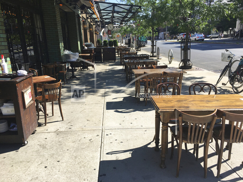 Restaurants during the phase 3 reopening in NYC - 7/12/20