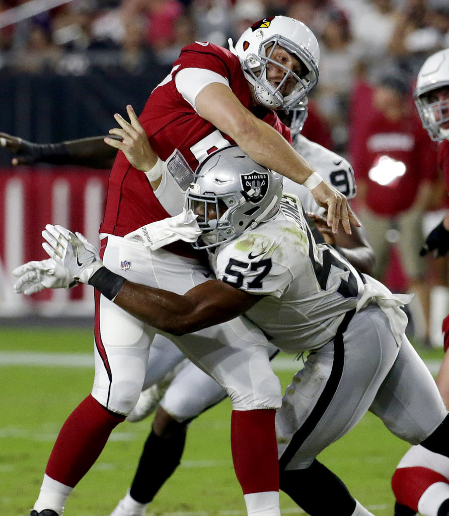 APTOPIX Raiders Cardinals Football