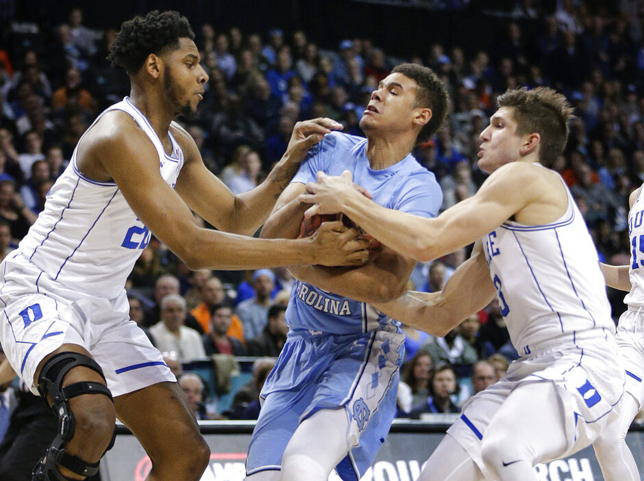ACC North Carolina Duke Basketball
