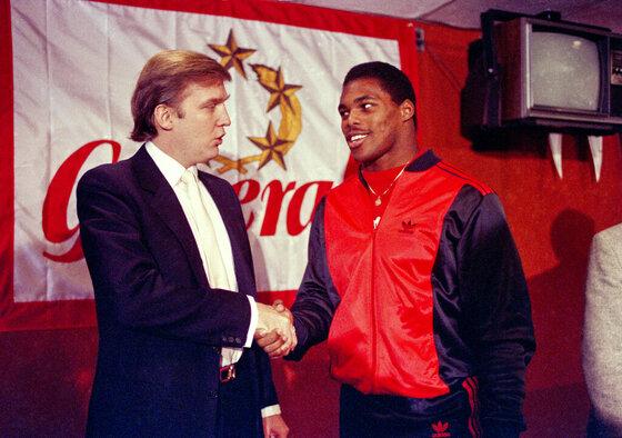Herschel Walker, Donald Trump