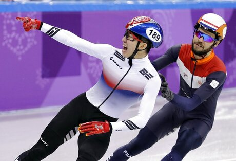 Pyeongchang Olympics Short Track Speed Skating Men