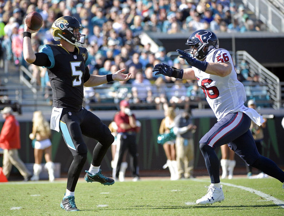 Blake Bortles, Brian Cushing
