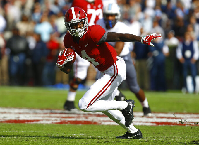 Jerry Jeudy follows in steps of past Alabama star receivers