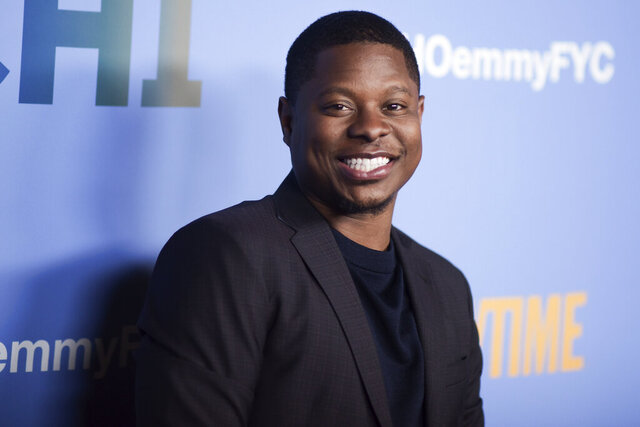 FILE - This April 10, 2019 file photo shows Jason Mitchell at