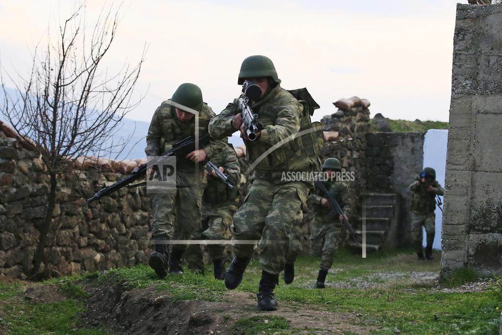 Turkey Syria Military Exercises