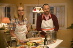 This image released by Annapurna Pictures shows Lisa Kudrow, left, and Will Forte in a scene from the film